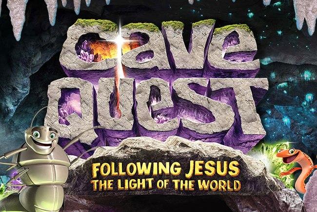 Cave Quest VBS Logo